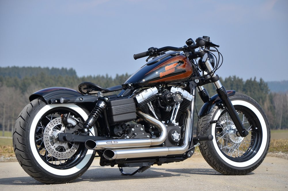 Harley Davidson Dope Bike